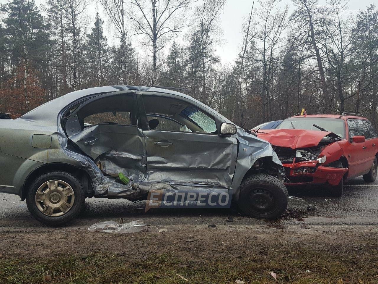 Криваве ДТП на Гостомельському шосе: є жертви, фото-5