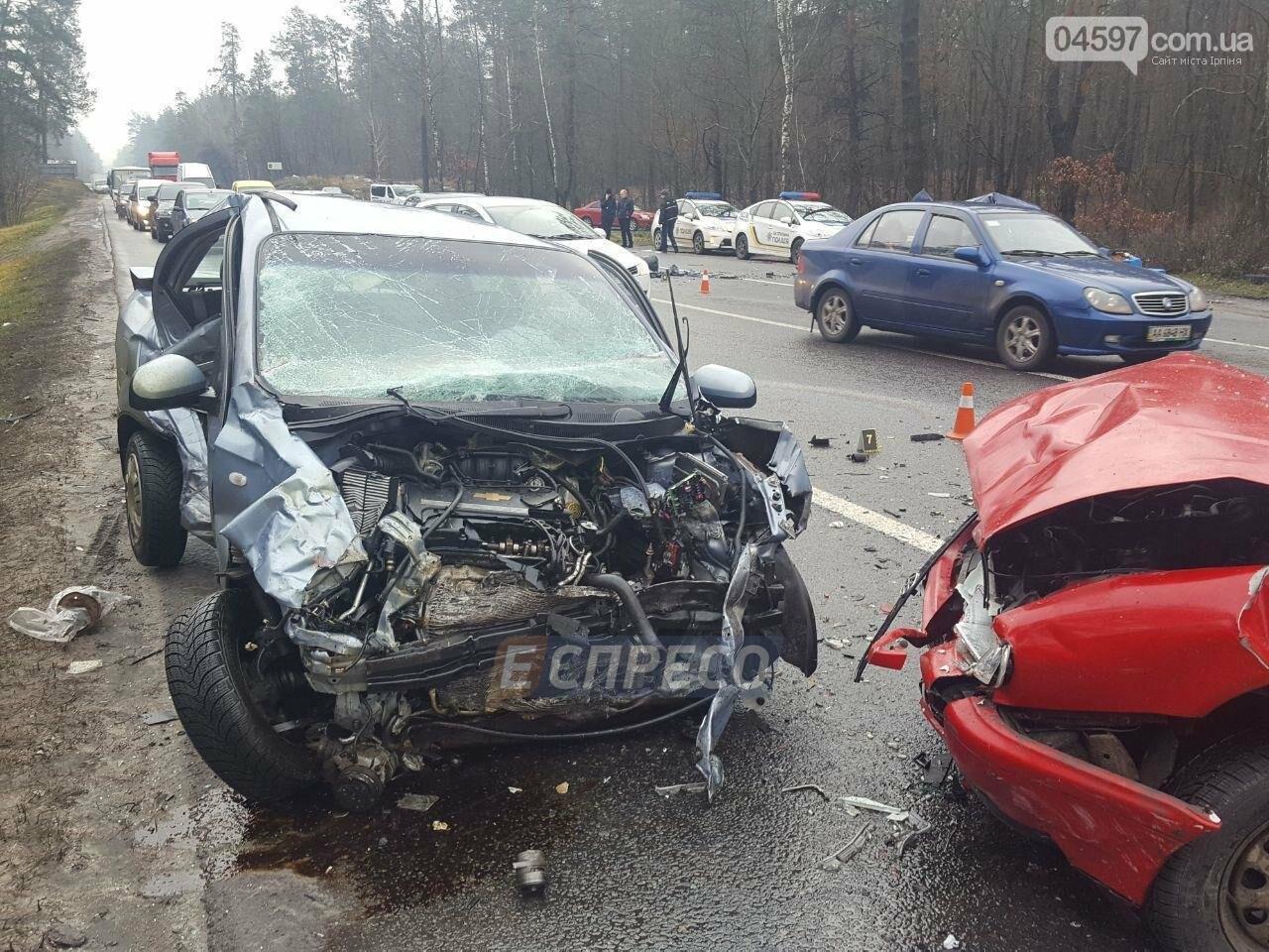 Криваве ДТП на Гостомельському шосе: є жертви, фото-1