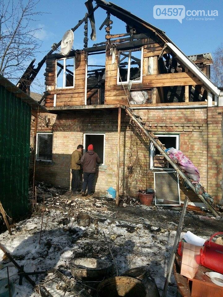 В Гостомелі згорів будинок, сім'я просить допомоги, фото-4