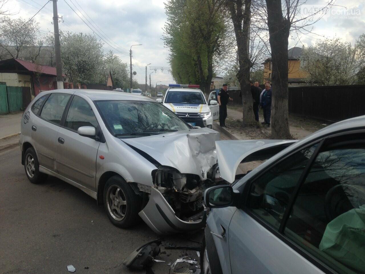 Поблизу Франківська водій «євроблях» порушив правила і спричинив ДТП. Винуватиць аварії потрапив до лікарні