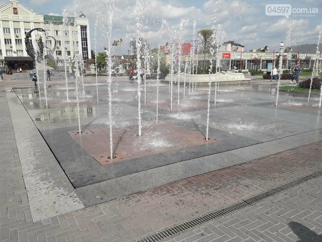 Найближчими днями в центрі Ірпеня запустять фонтан, фото-2