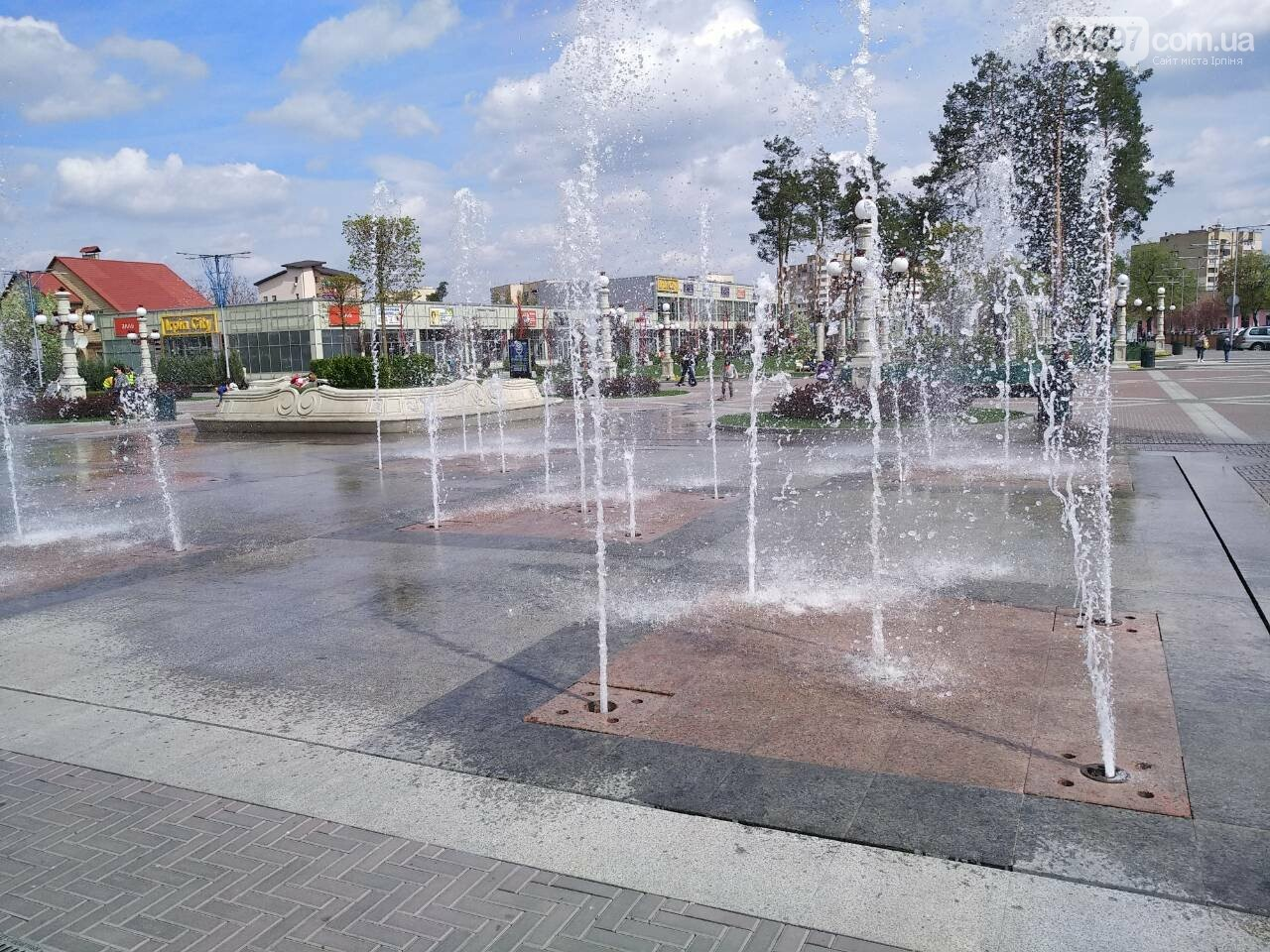 Найближчими днями в центрі Ірпеня запустять фонтан, фото-4