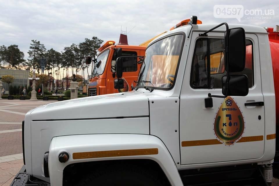 Оновлення автопарку: ірпінські комунальники отримали нову техніку, фото-2