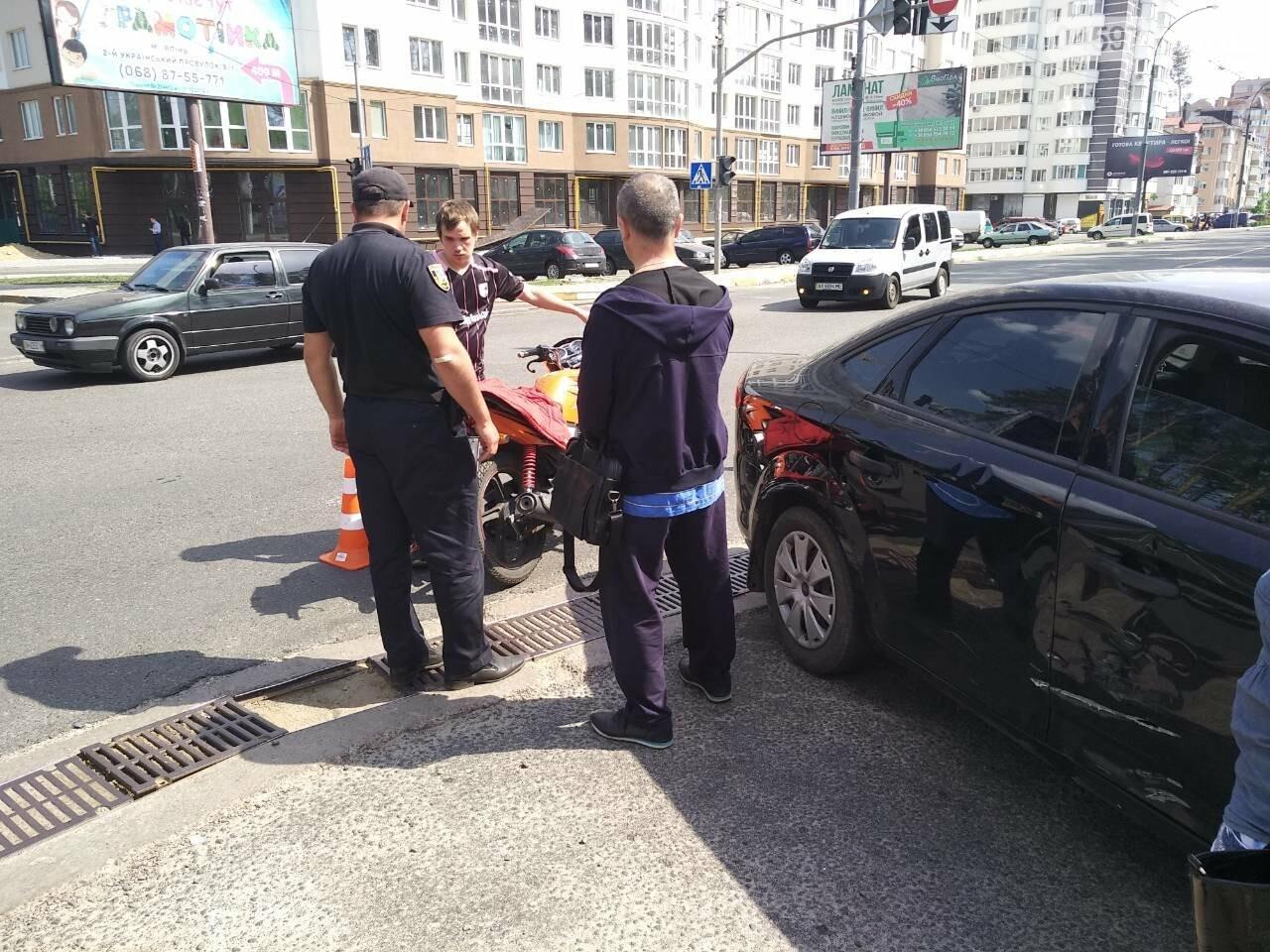 В Ірпені на перехресті з непрацюючим світлофором сталася ДТП, фото-6