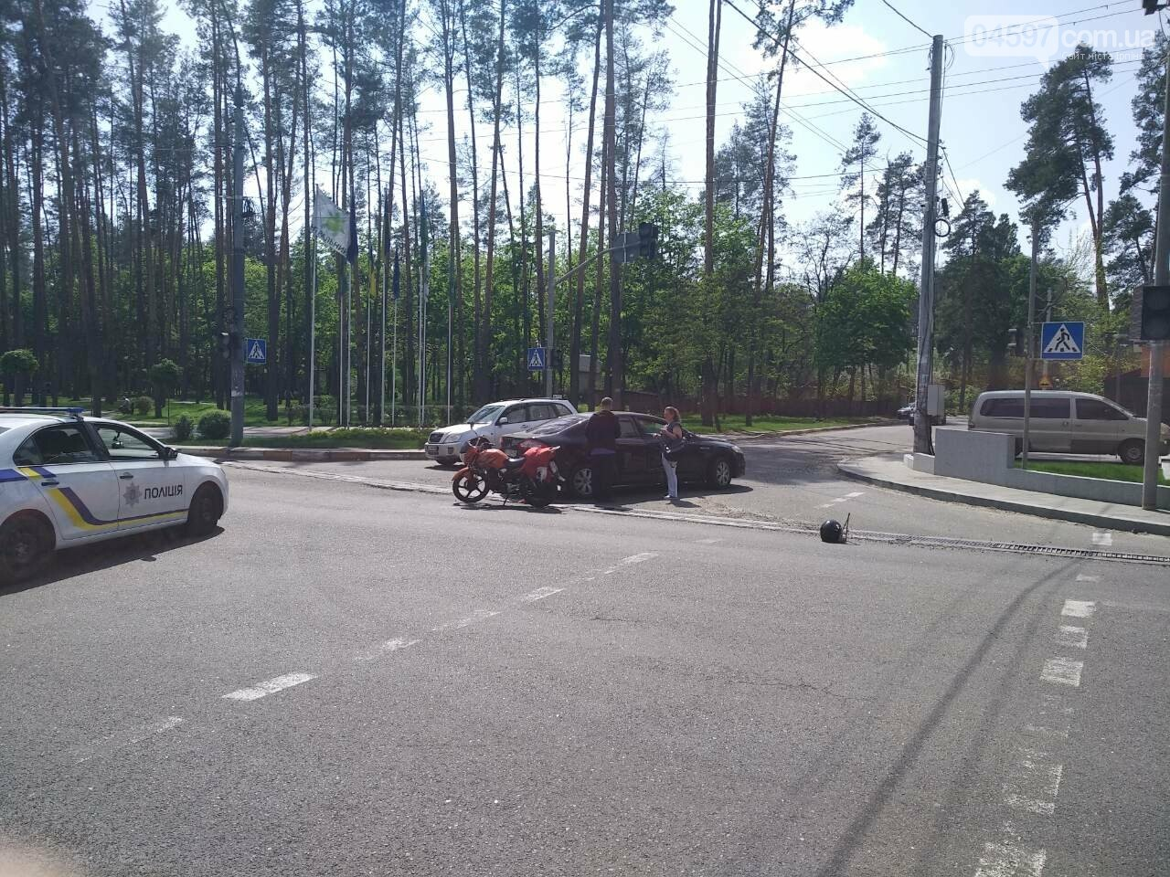 В Ірпені на перехресті з непрацюючим світлофором сталася ДТП, фото-5
