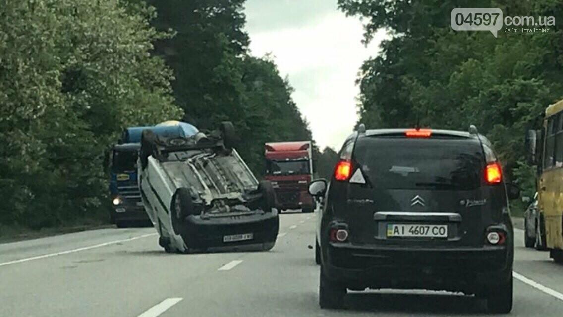 На Варшавці ДТП: водії обирайте інший маршрут, фото-1