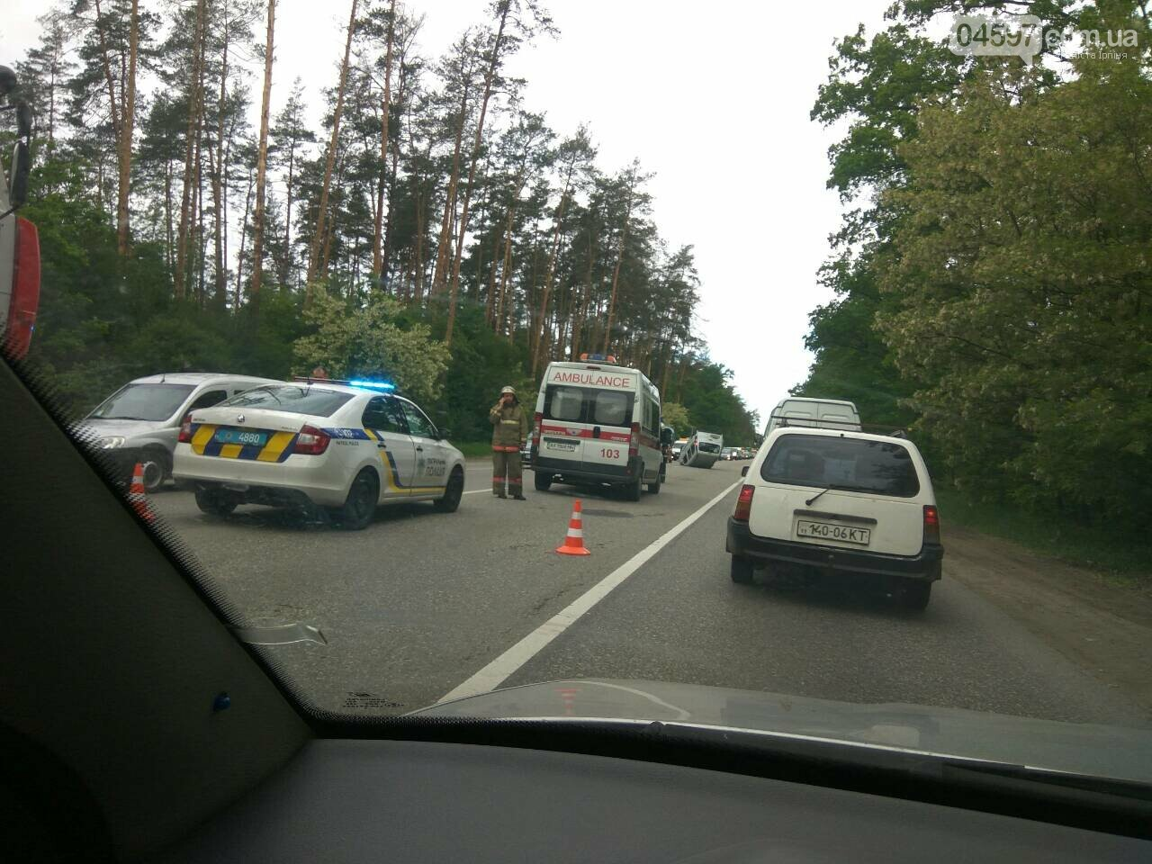 На Варшавці ДТП: водії обирайте інший маршрут, фото-4