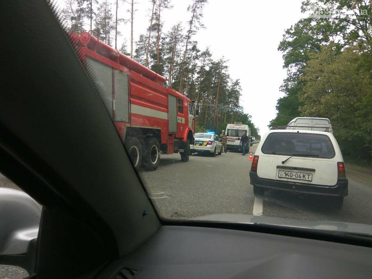 На Варшавці ДТП: водії обирайте інший маршрут, фото-3