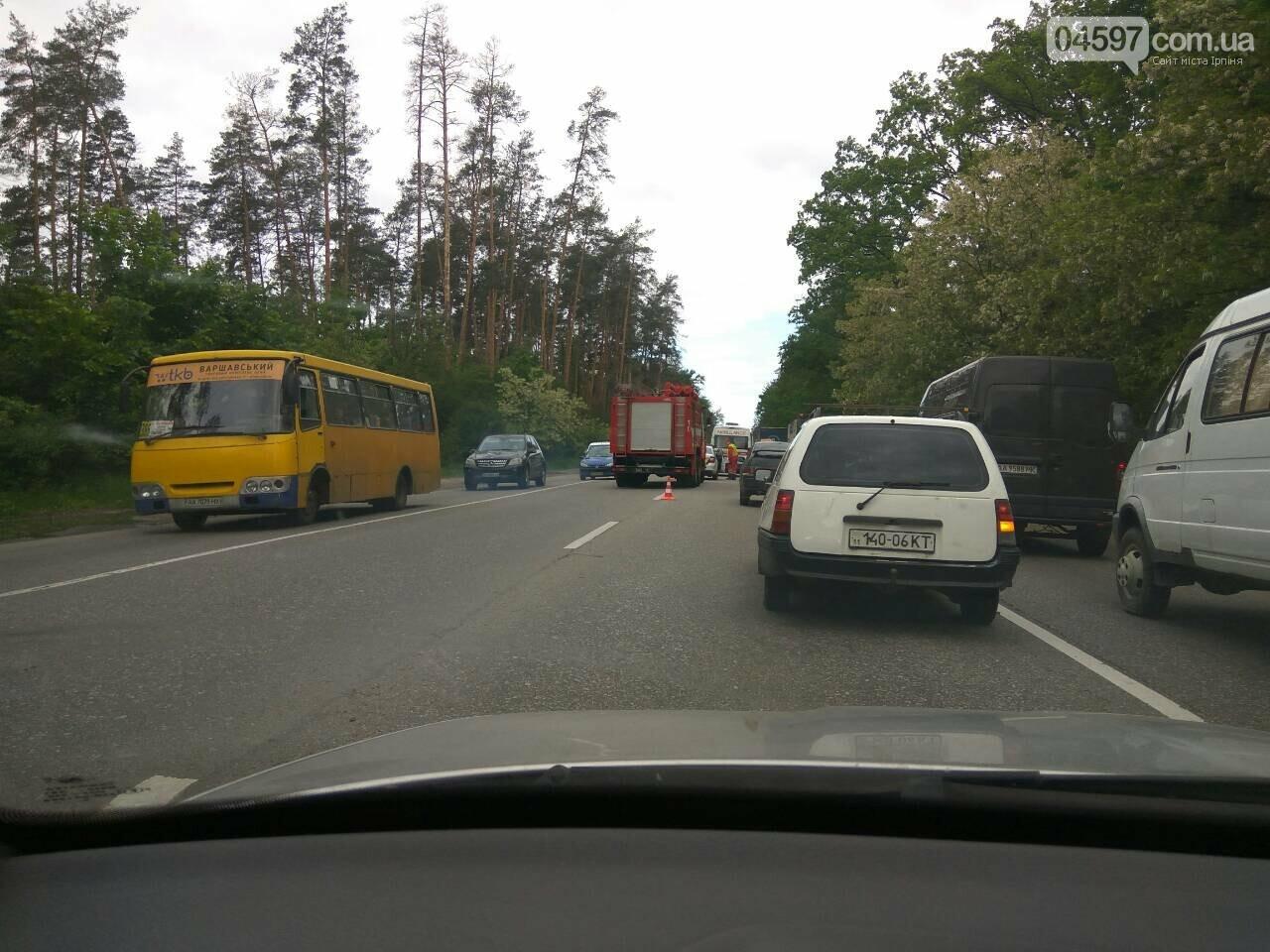 На Варшавці ДТП: водії обирайте інший маршрут, фото-2