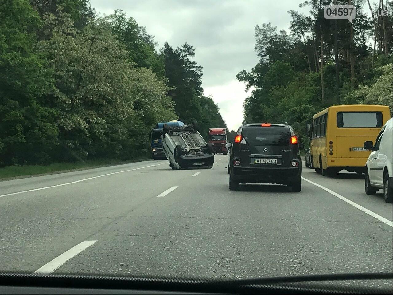На Варшавці ДТП: водії обирайте інший маршрут, фото-5