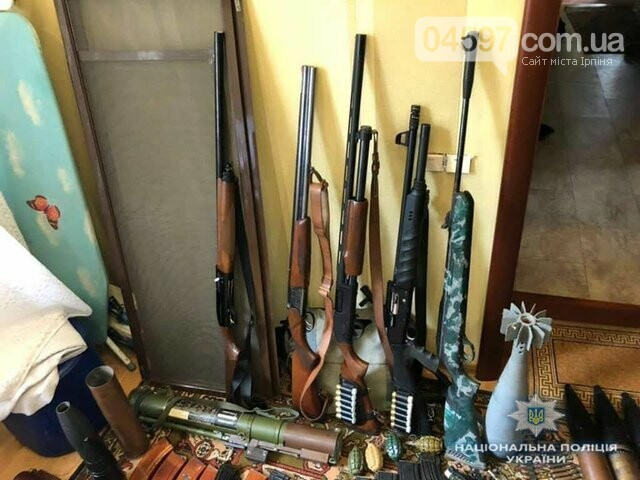 У квартирі бучанця поліція вилучила арсенал зброї, фото-2