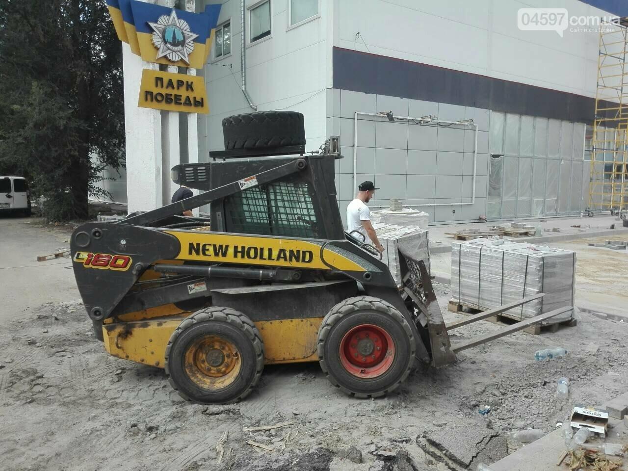 Еко-маркет та Дім доргівлі змінють фасад (Фотозвіт), фото-6