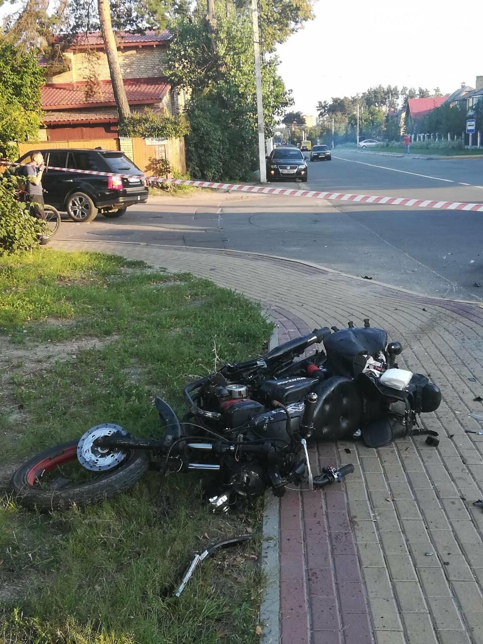 ДТП в Ірпені: мотоцикліст залишився без ноги, фото-6