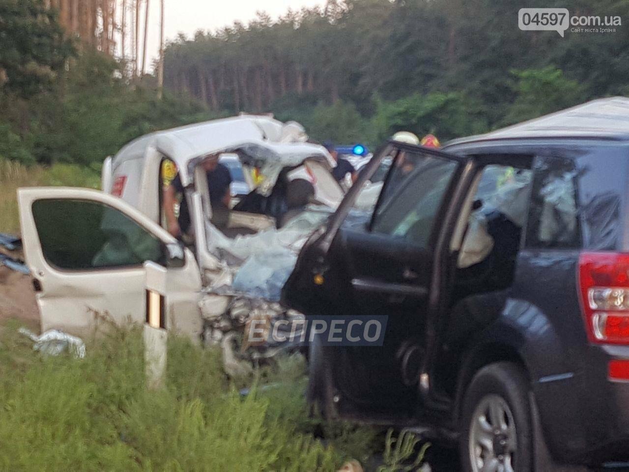 Смертельна ДТП на Новоірпінській трасі: 4 загиблих, 3 постраждалих, фото-1