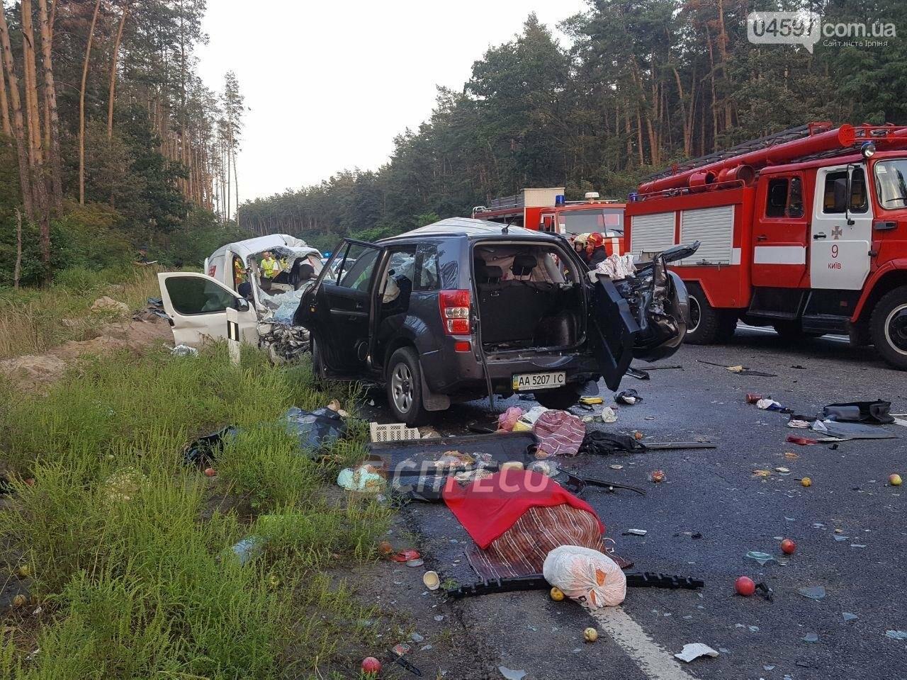 Смертельна ДТП на Новоірпінській трасі: 4 загиблих, 3 постраждалих, фото-7