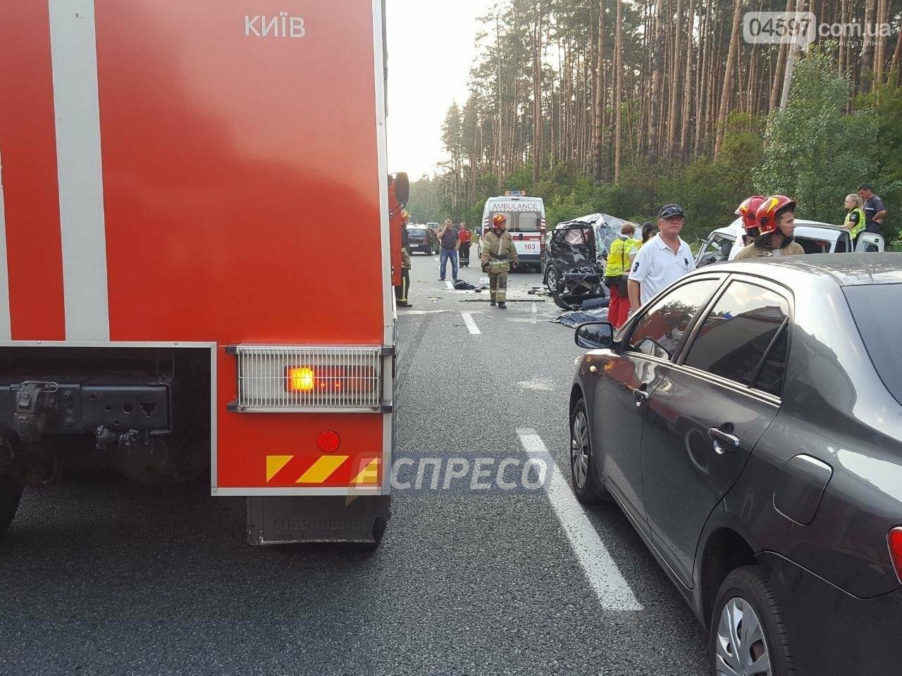 Смертельна ДТП на Новоірпінській трасі: 4 загиблих, 3 постраждалих, фото-4