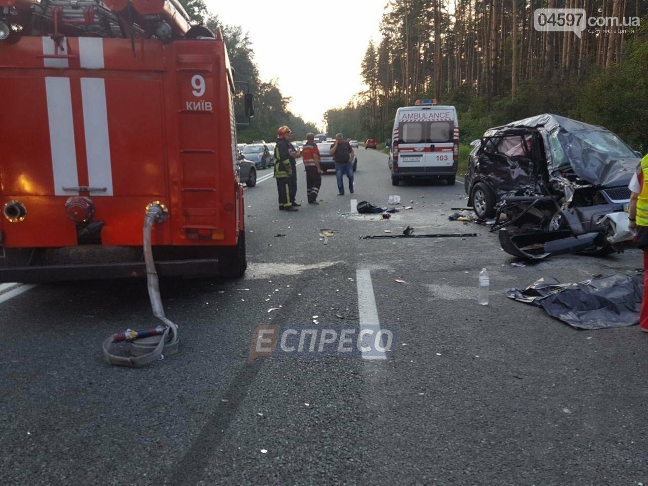 Смертельна ДТП на Новоірпінській трасі: 4 загиблих, 3 постраждалих, фото-3