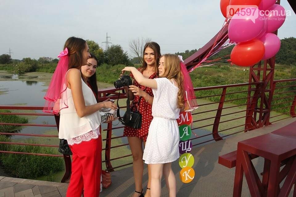 Ірпінські наречені святкують дівич-вечір на містку Незнайки, фото-2
