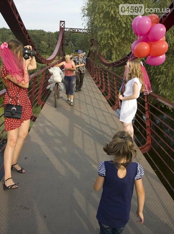 Ірпінські наречені святкують дівич-вечір на містку Незнайки, фото-4
