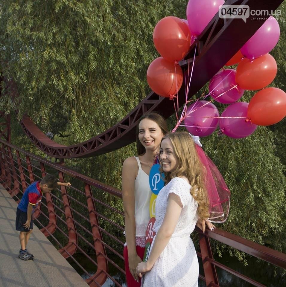 Ірпінські наречені святкують дівич-вечір на містку Незнайки, фото-6
