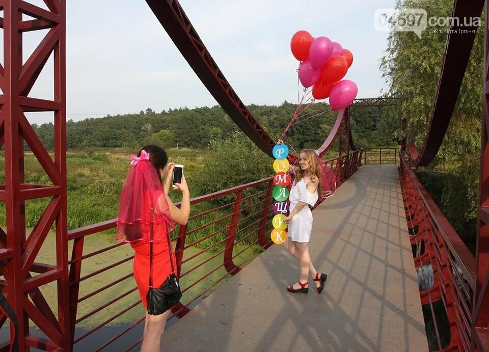 Ірпінські наречені святкують дівич-вечір на містку Незнайки, фото-11
