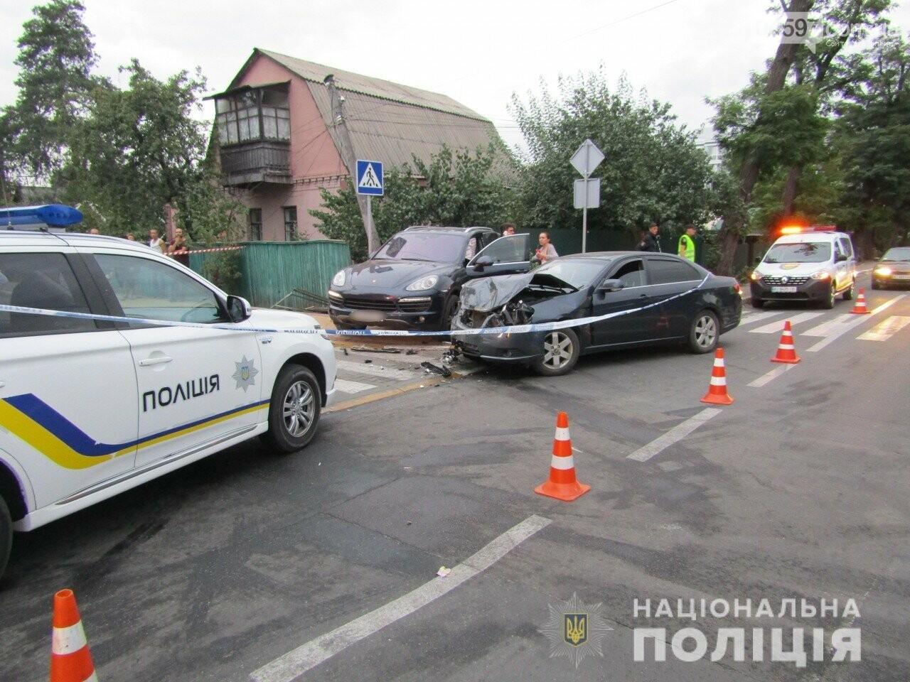 Через зіткнення автівок в Ірпені помер пішохід, фото-1