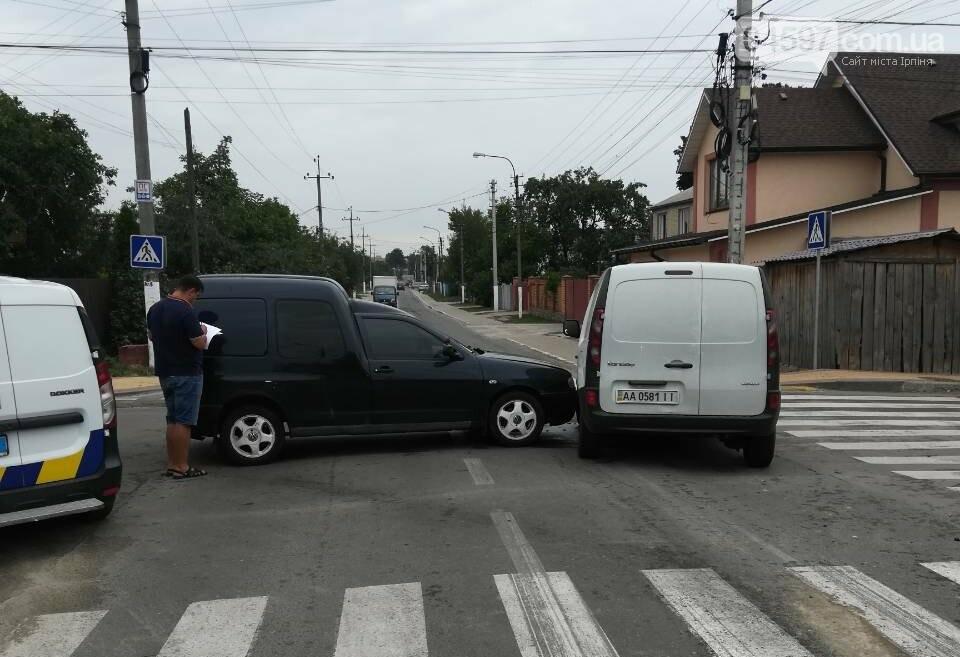 ДТП на вулиці Озерній в Ірпені, фото-1