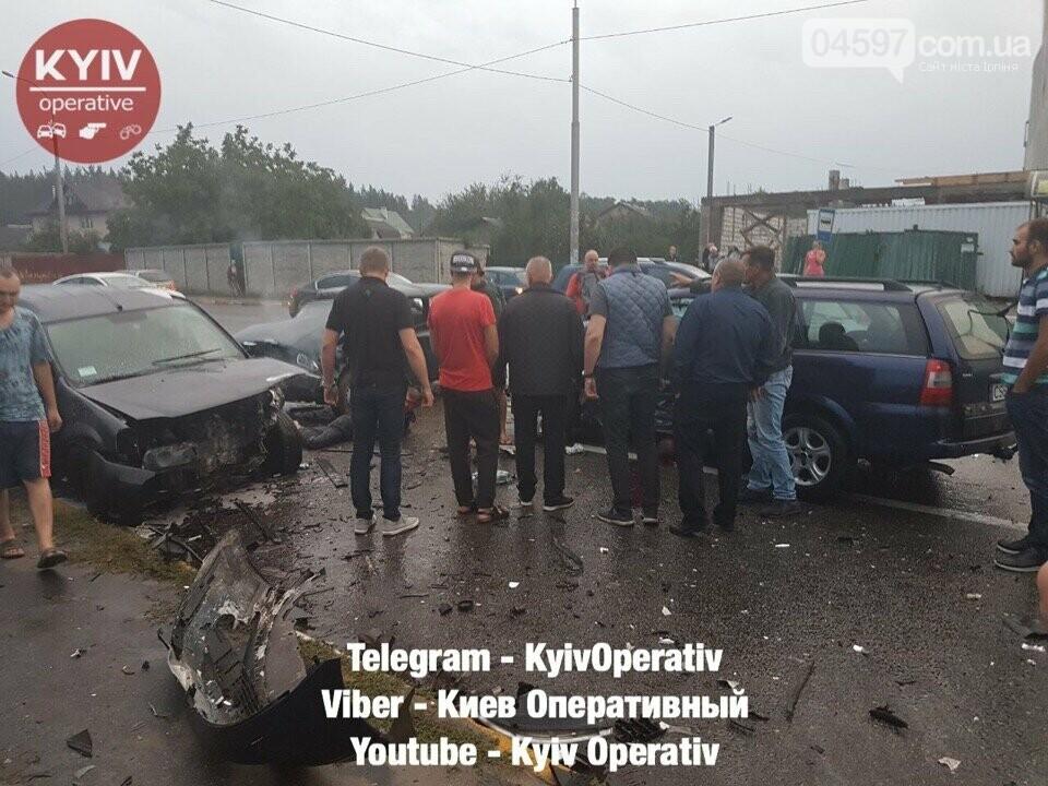Трагічне ДТП в Ірпені: зіткнулися чотири автівки, фото-3