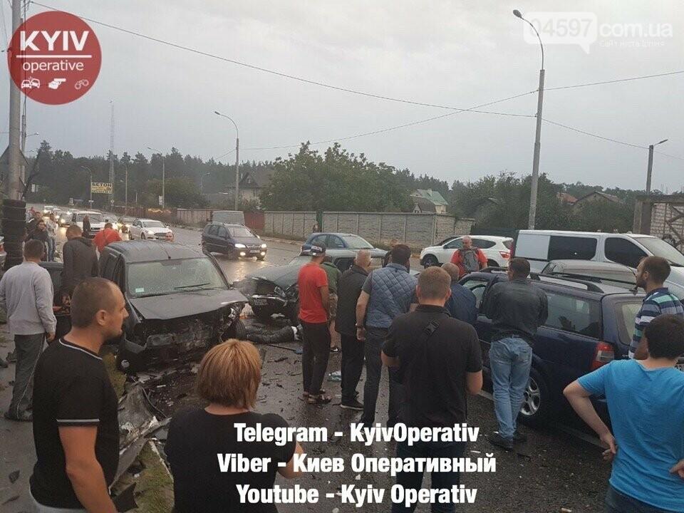 Трагічне ДТП в Ірпені: зіткнулися чотири автівки, фото-2