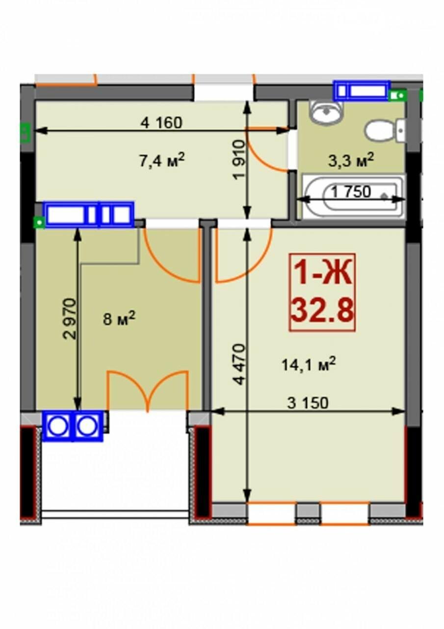 ТОП-6 найдешевших квартир в Ірпені в новобудовах, фото-15