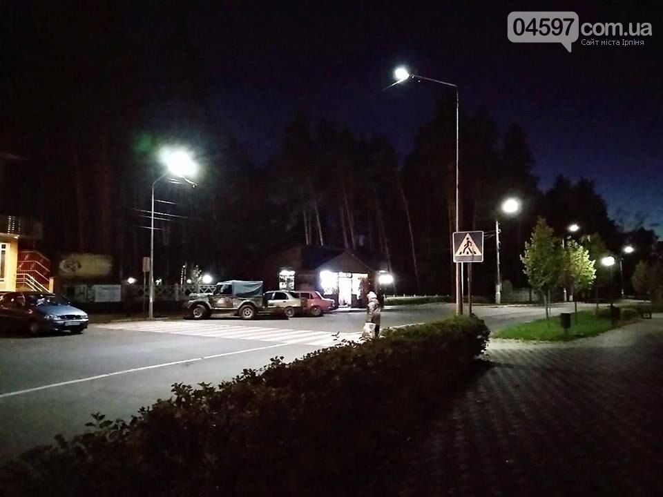 За грантові кошти на Гостомельському шосе встановлять світлодіодні лампи, фото-2