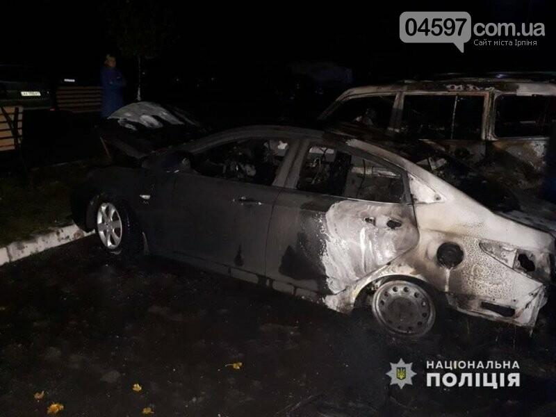 В Коцюбинському підпалили авто працівниці сільради, - відео, фото-1