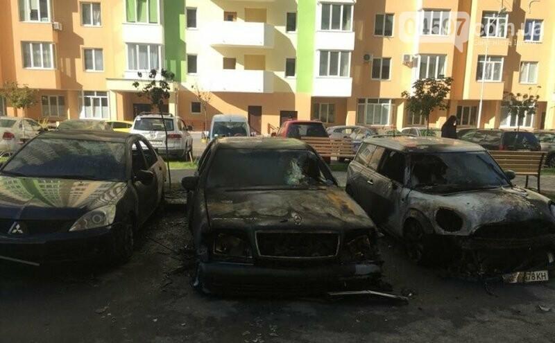 В Коцюбинському підпалили авто працівниці сільради, - відео, фото-3