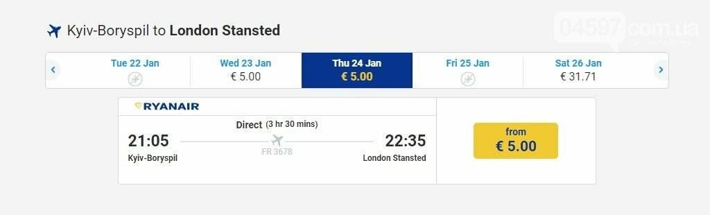 Лоукостер Ryanair запускає нові рейси в Київ, фото-1