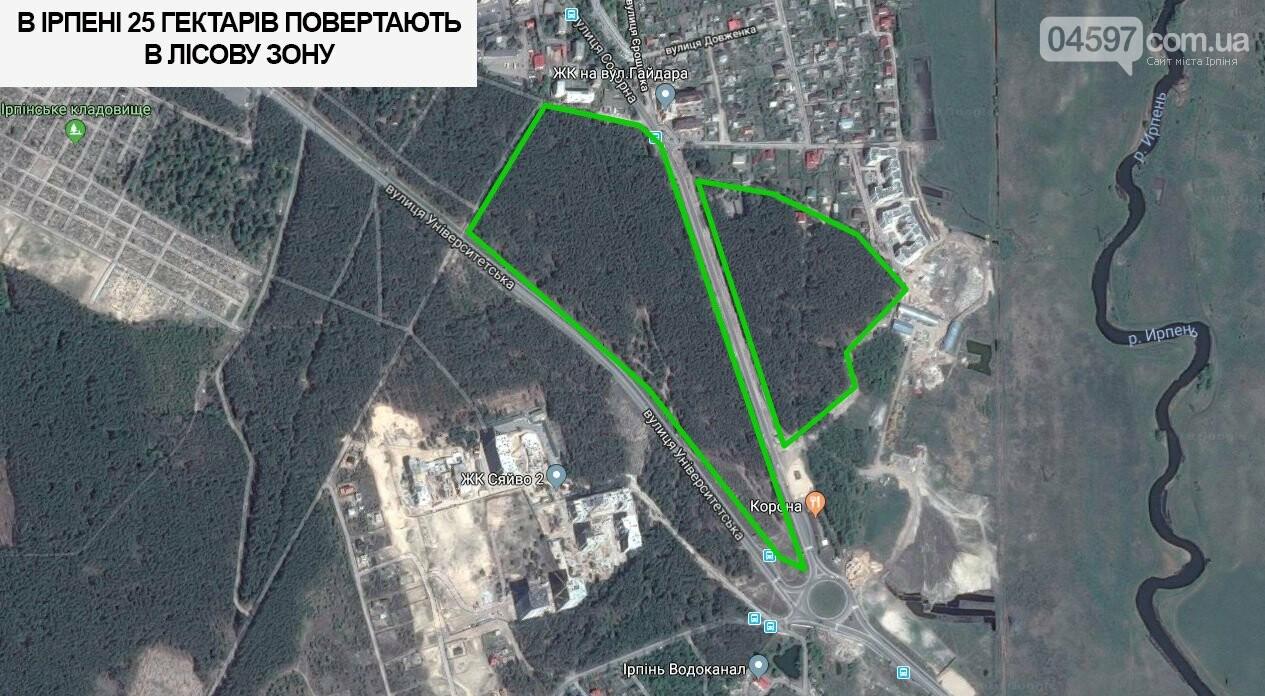 В Ірпені 25 гектарів повертають в лісову зону, фото-2