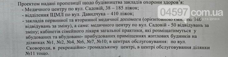6 шкіл, 14 садочків, 466 га заповідника: оновлений генплан Ірпеня в цифрах, фото-2