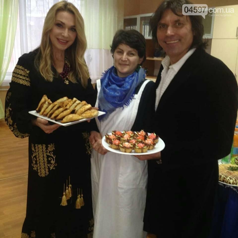 Ольгу Сумську в Ірпені пригощали кримсько-татарськими стравами, фото-1