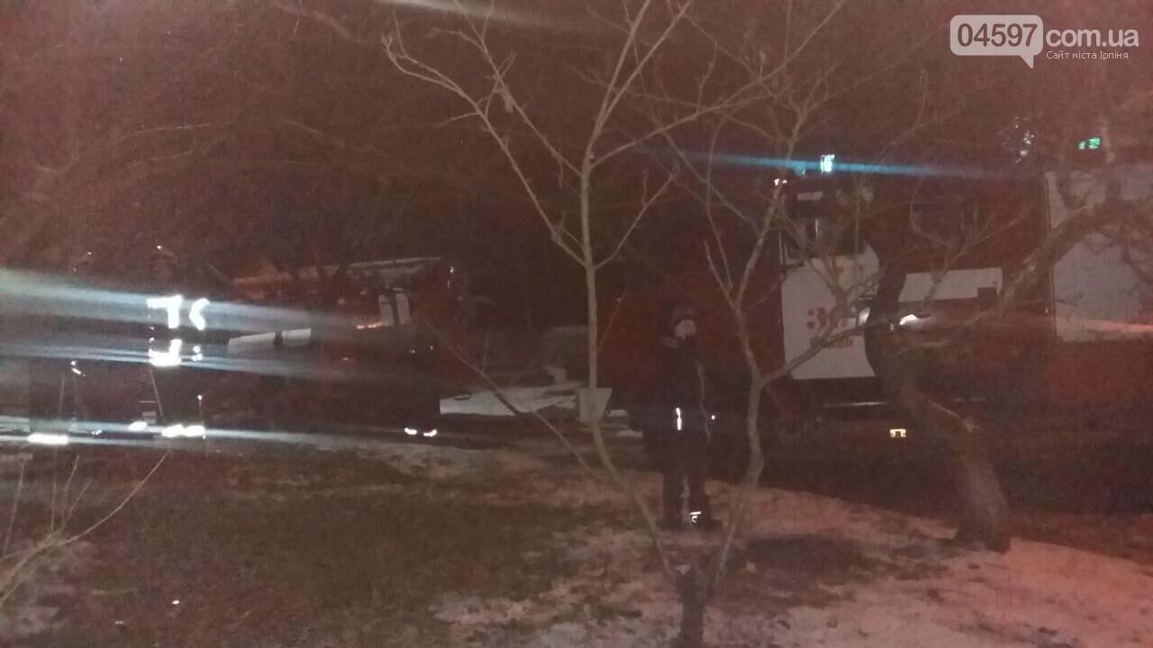 В Ірпені врятували двох безхатченків під час пожежі в багатоповерхівці, фото-1