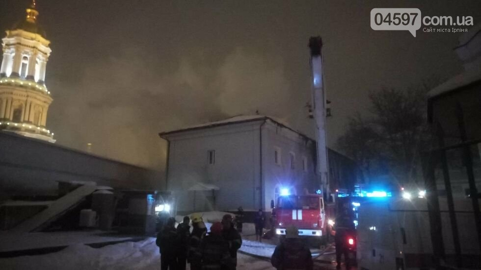 У Києві горить Києво-Печерська лавра, фото-2