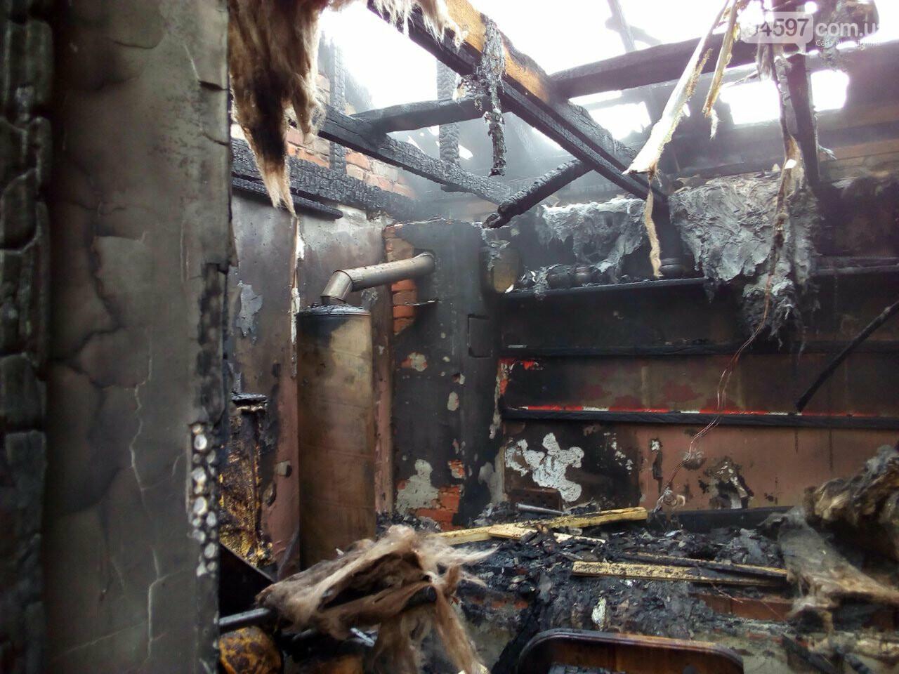 В Ірпені згоріла приватна лазня, фото-3