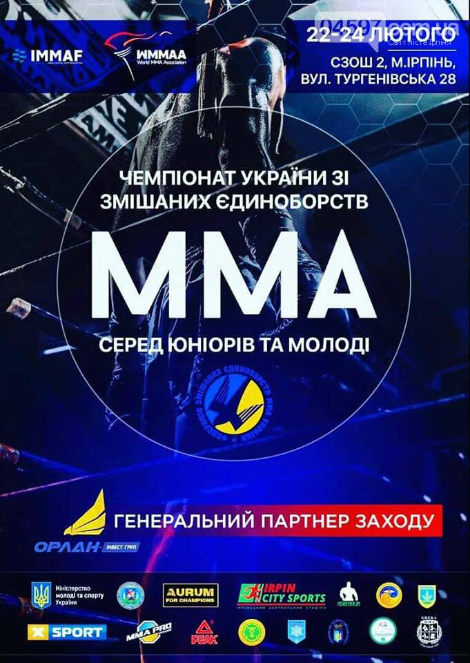 В Ірпені пройде Чемпіонат України зі змішаних єдиноборств, фото-1