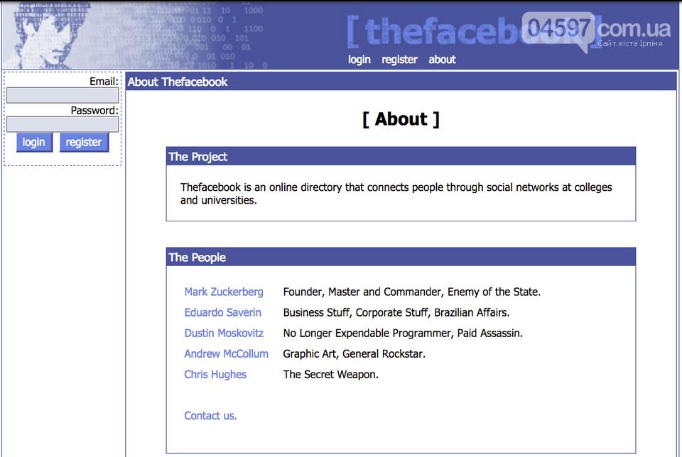 Ювілей соцмережі: як виглядав Фейсбук 15 років тому, фото-3