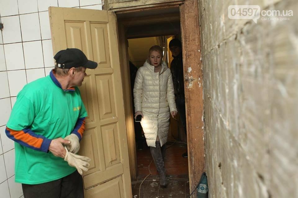 В Ірпені почали ремонт старого соціального гуртожитку, фото-3