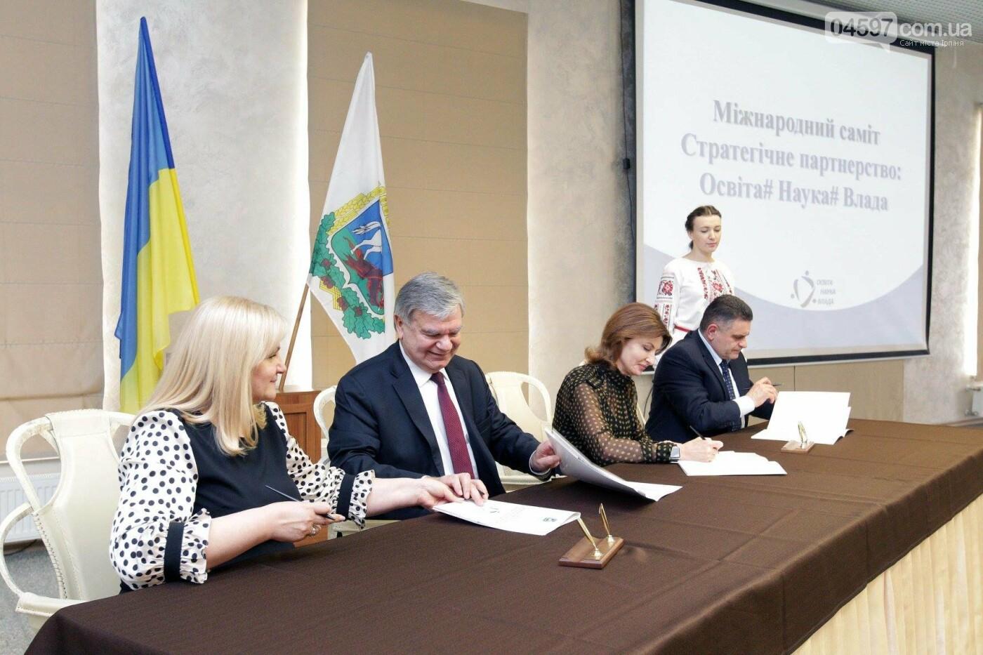 Марина Порошенко в Ірпені підписала Хартію у сфері освіти, фото-4