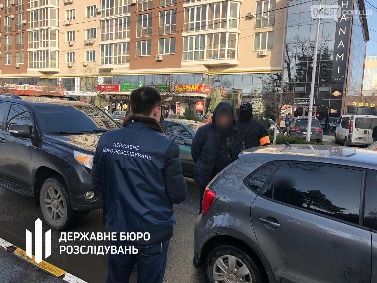 Затримання зі стрільбою: ірпінського слідчого взяли на отриманні хабаря, фото-6