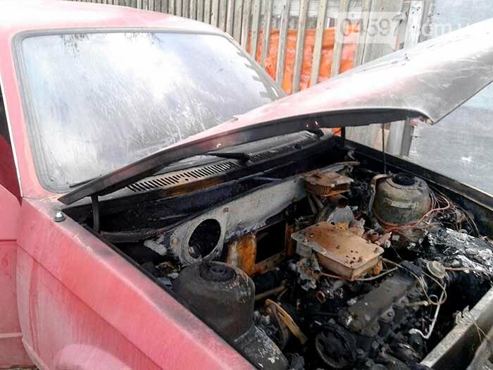 У Гостомелі горіла автівка, фото-1
