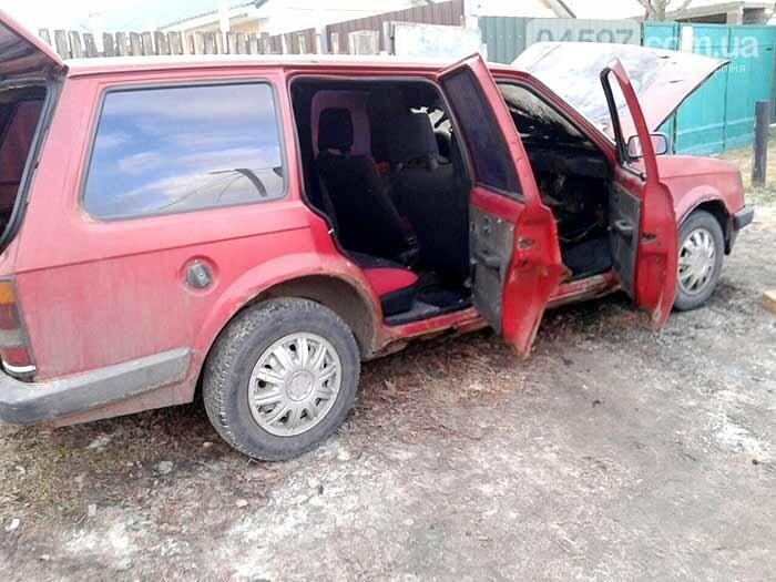 У Гостомелі горіла автівка, фото-3