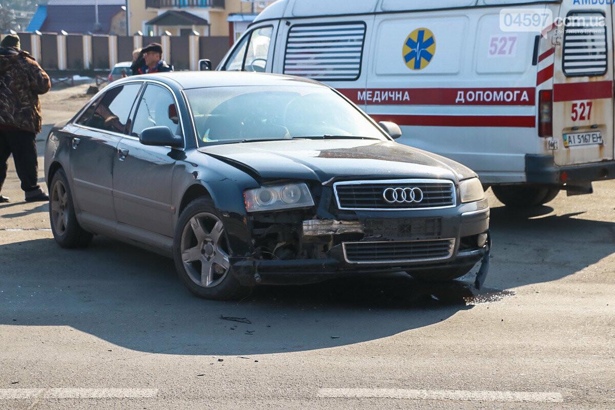 На виїзді з Ірпеня зіткнулися Audi та Suzuki: травмована жінка-пасажир, фото-2
