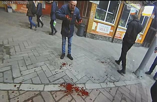 Жорстока бійка в центрі Ірпеня - фото, відео, фото-3