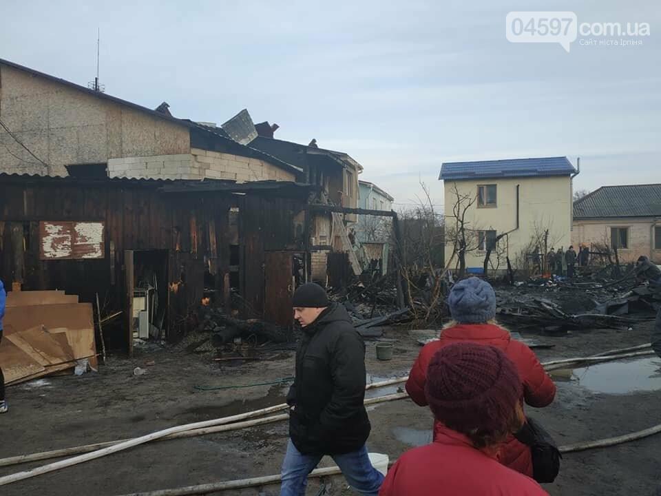 В Ірпені згоріли житлові будинки: потрібна допомога, фото-1